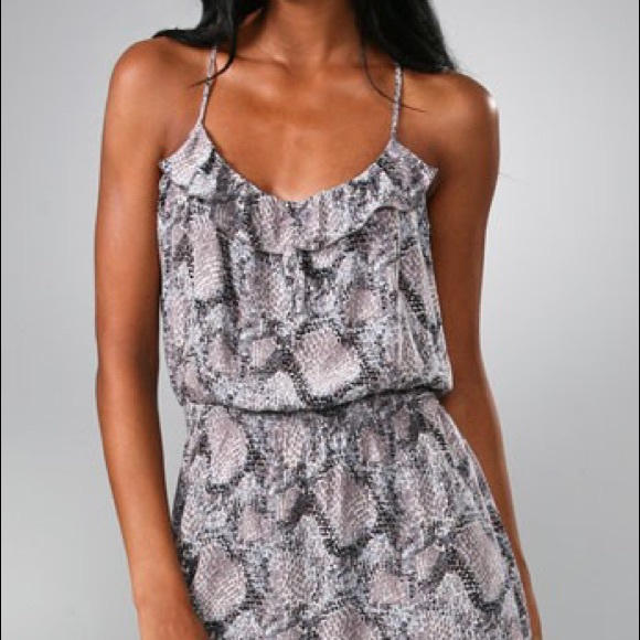 Parker Dresses & Skirts - Parker Silk Snake Print Cami Dress